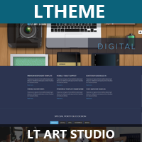 LT Art Studio – Creative Joomla Template