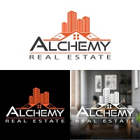 Real Estate Home Property Logo Design Template