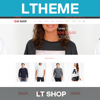 LT Shop – Shopping Joomla Template