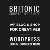 Britonic WordPress Blog Theme