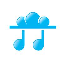 Cloud Music Logo Template