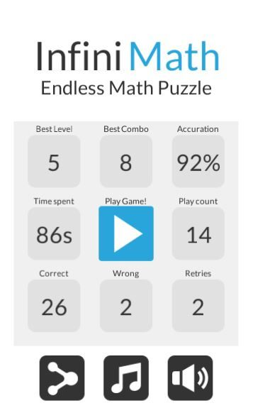 InfiniMATH - Math Puzzle Game Unity Template Screenshot 1