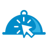 click-food-logo-for-restaurant-or-cafe
