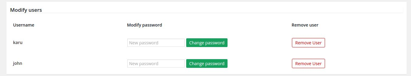 htaccess Site Access Control - WordPress Plugin Screenshot 3