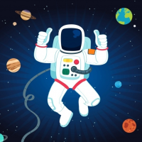 Space Adventure - Buildbox Game Template