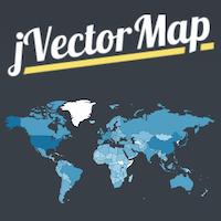 jVectorMap - Interactive Vector Maps