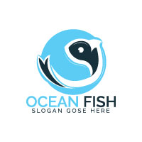 Ocean Fish Logo Design