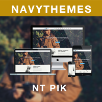 NT PIK –  Photography WordPress Theme