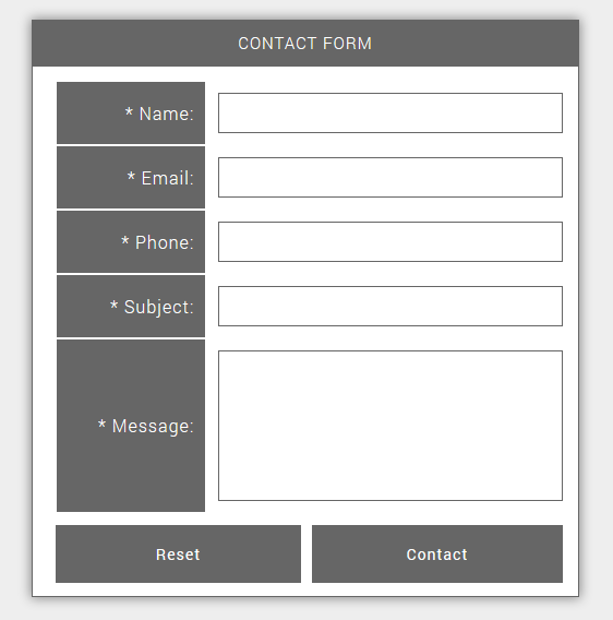 Simple Ajax Contact Form PHP Script Screenshot 2