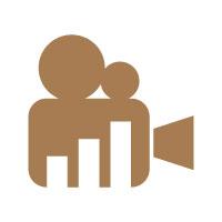 Video Marketing Financial Advisor Logo Design
