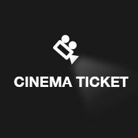 UI Cinema Ticket Template Theme User Interface