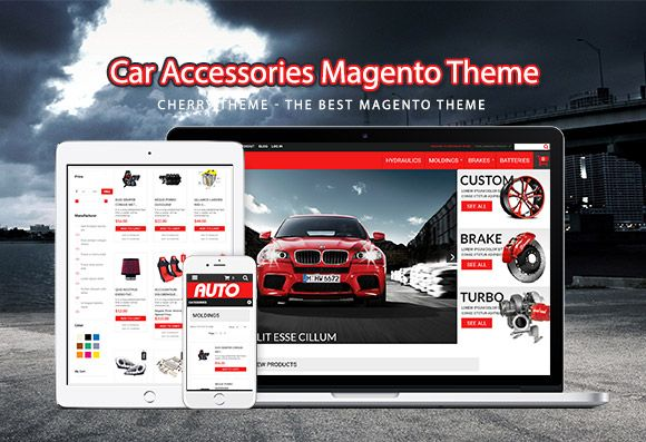 Car Accessories Magento Theme Screenshot 4