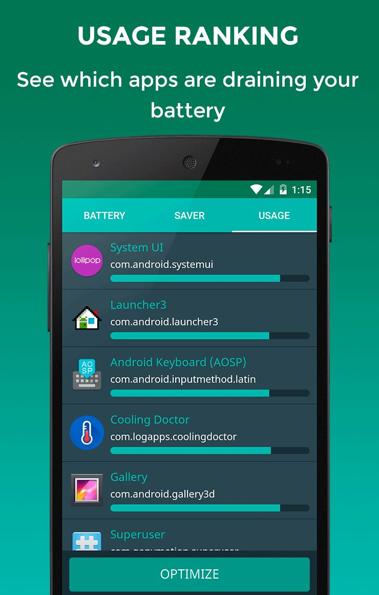 Battery Doctor Saver Android App Source Code. Screenshot 3