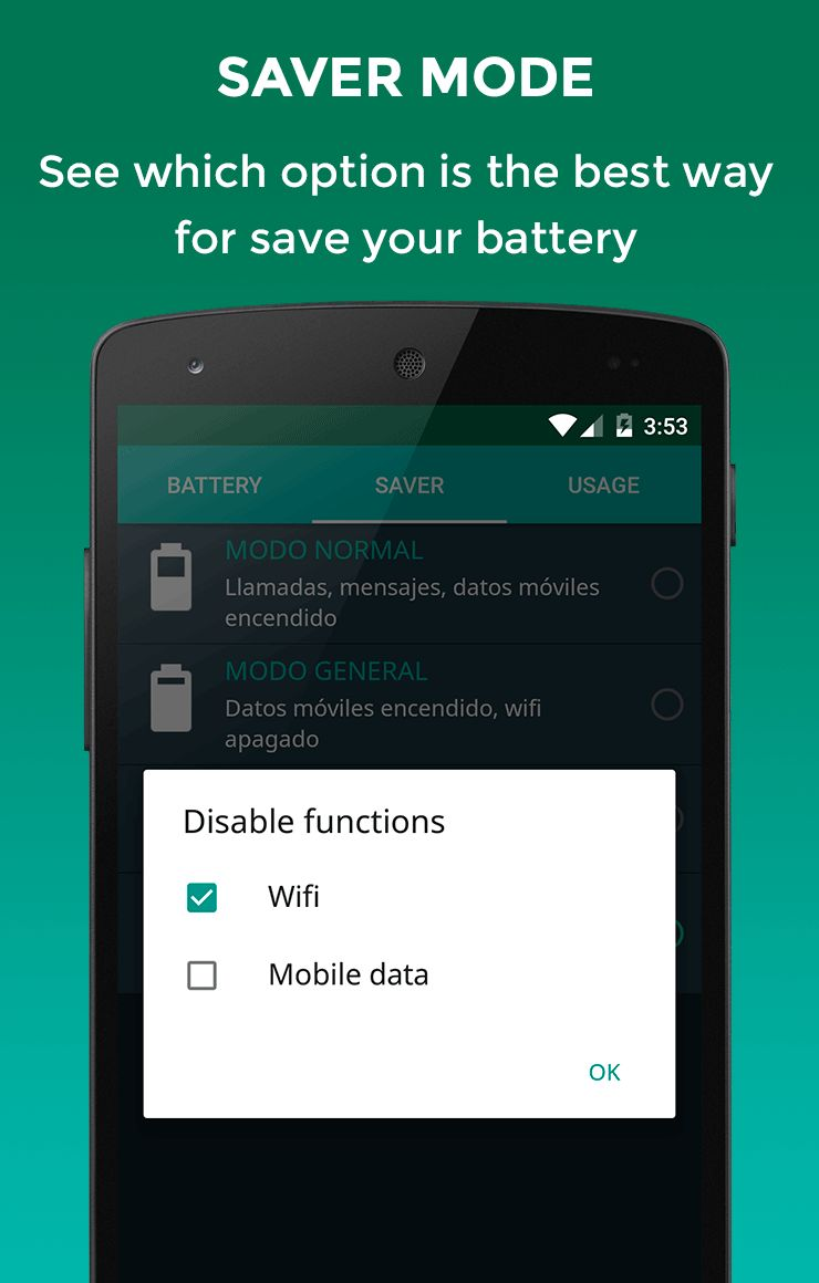 Battery Doctor Saver Android App Source Code. Screenshot 4