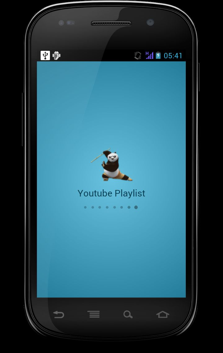 Youtube Playlist Player - Android App Template Screenshot 2