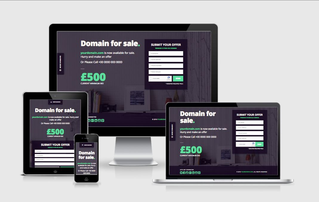 Domain Seller - Domain For Sale PHP Script Screenshot 4
