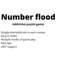 Number flood - iOS Template
