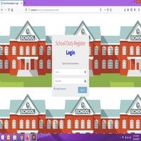 School Duty Register Software