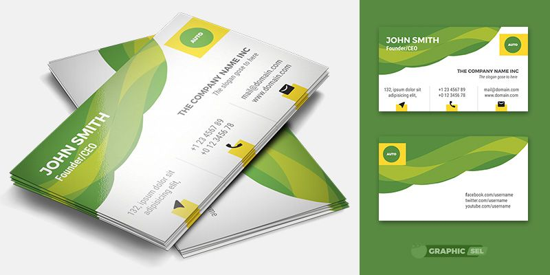 Business Card Template App