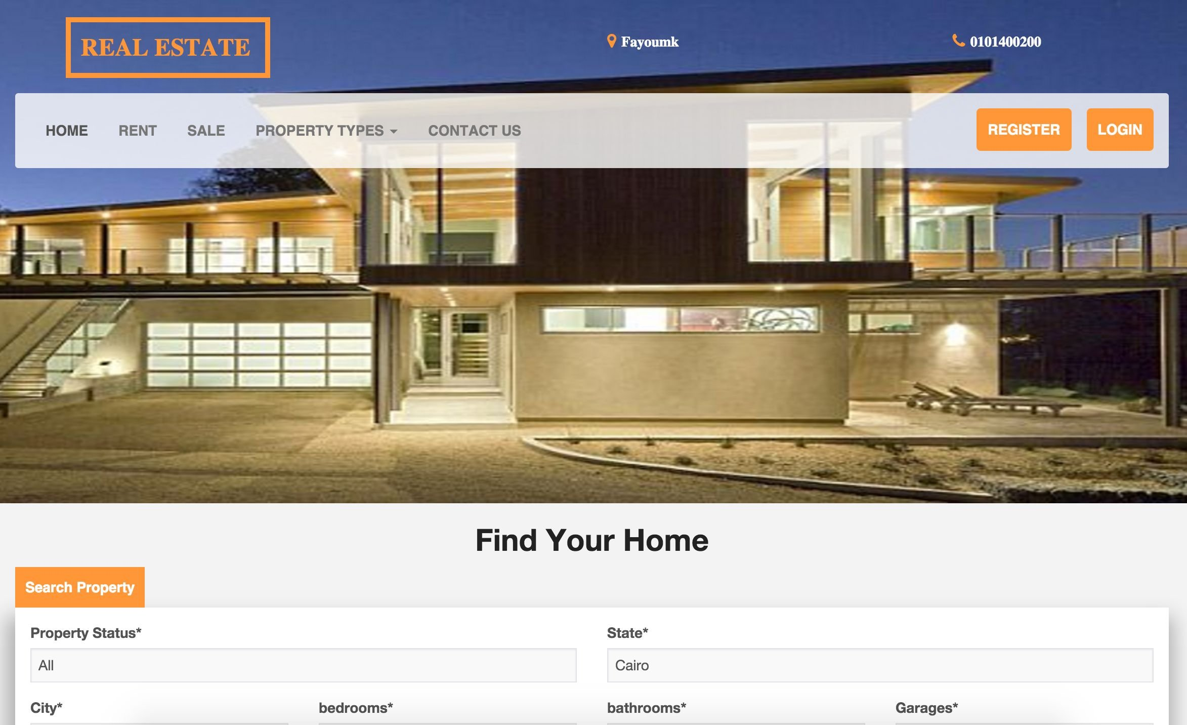 MC Real Estate Pro - PHP Script Screenshot 1
