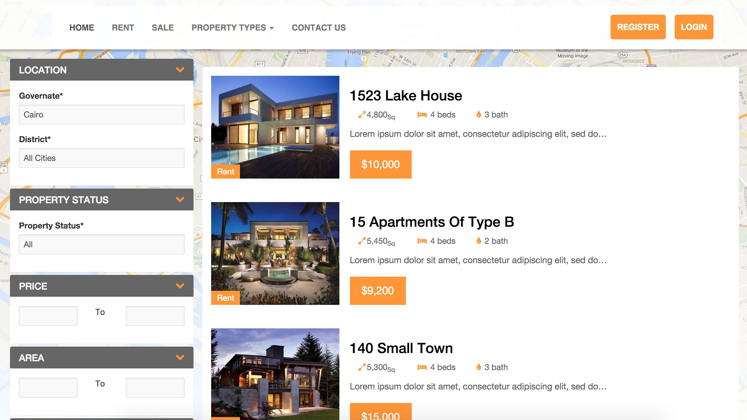 MC Real Estate Pro - PHP Script Screenshot 2