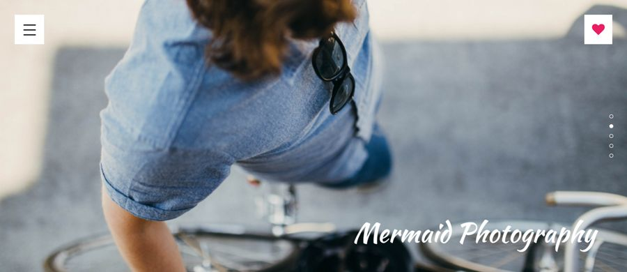 Create Photography Portfolio Website - Mermaid CMS Screenshot 5