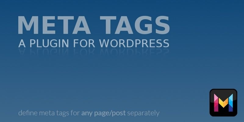 Wordpress Meta Tags - WordPress Plugin