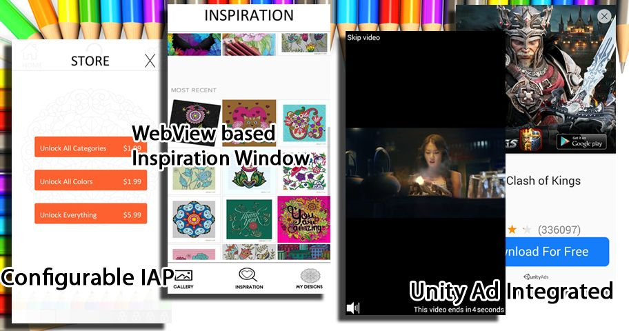 Colorize Coloring App – Unity Source Code Screenshot 4