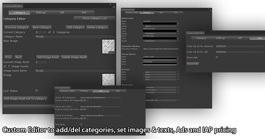 Colorize Coloring App – Unity Source Code Screenshot 5