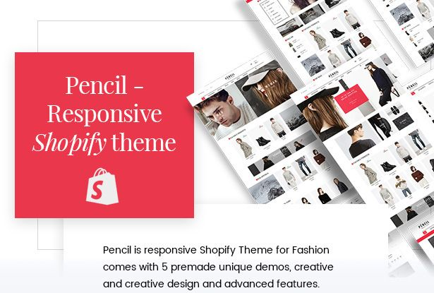 Pencil - Responsive Shopify Theme Screenshot 1