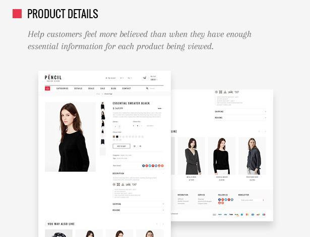 Pencil - Responsive Shopify Theme Screenshot 5