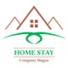 home-stay-logo-template