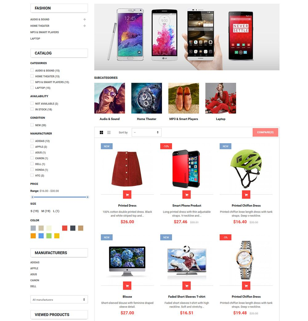 MarketOnline - Supermarket Prestashop Theme Screenshot 8