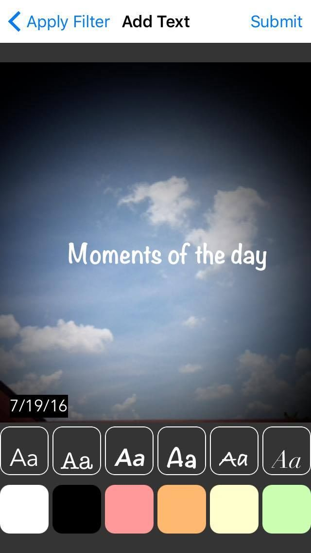 iMoments - iOS  App Template Screenshot 4