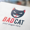 bad-cat-logo-template