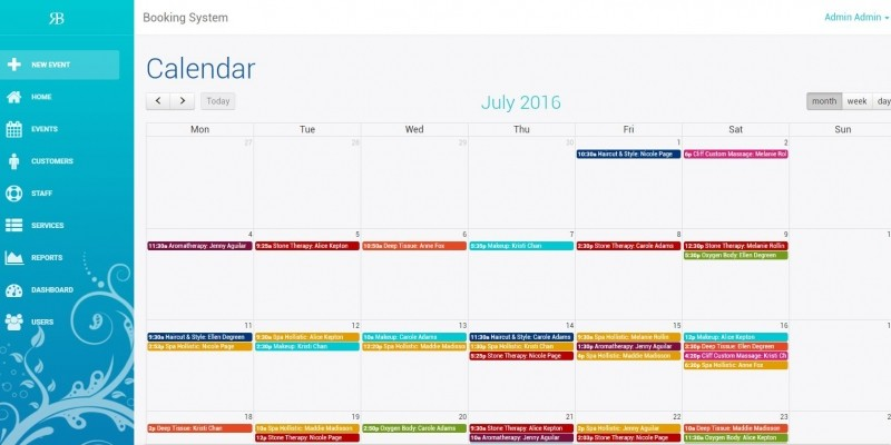 Calendar Booking System Php : Riaggo booking system php script miscellaneous