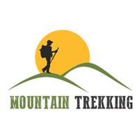 Mountain Trekking - Logo Template