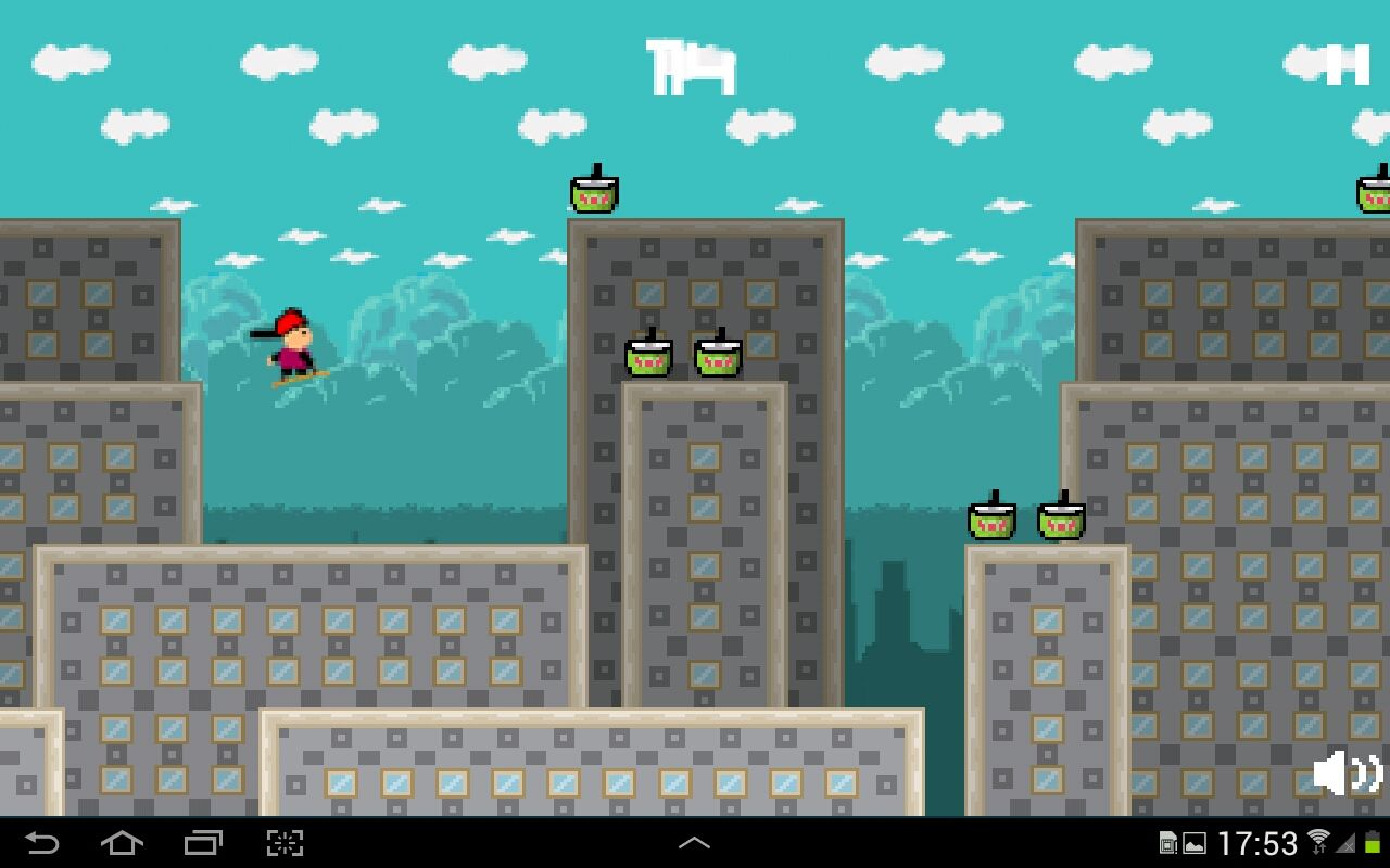Street Skater 2 - Android Game Source Code Screenshot 5