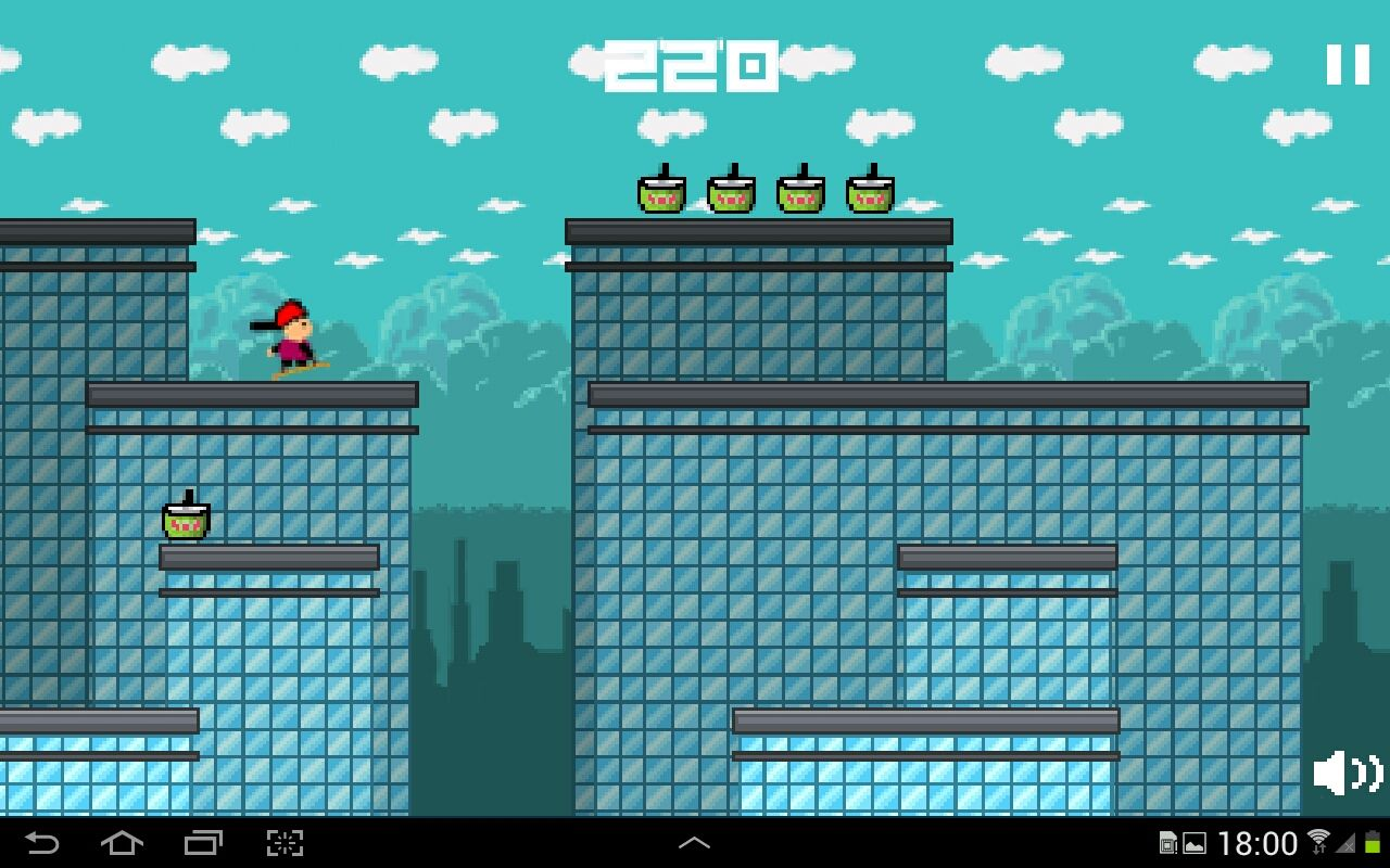 Street Skater 2 - Android Game Source Code Screenshot 6