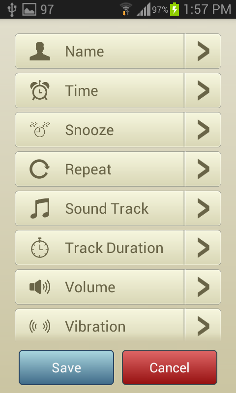 Sound Alarm Clock - Android App Source Code