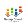 group-growth-logo-template