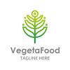 Vegetarian Food - Logo Template