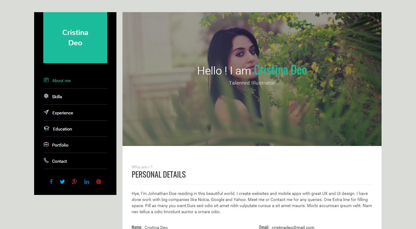 Swiftly - Resume Wordpress Theme Screenshot 4