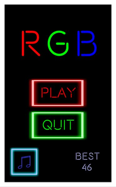 RGB - One Touch Unity Game Source Code Screenshot 7