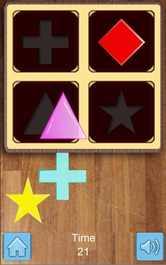 Kids Shapes  Puzzle Game - Unity Source Code Screenshot 2