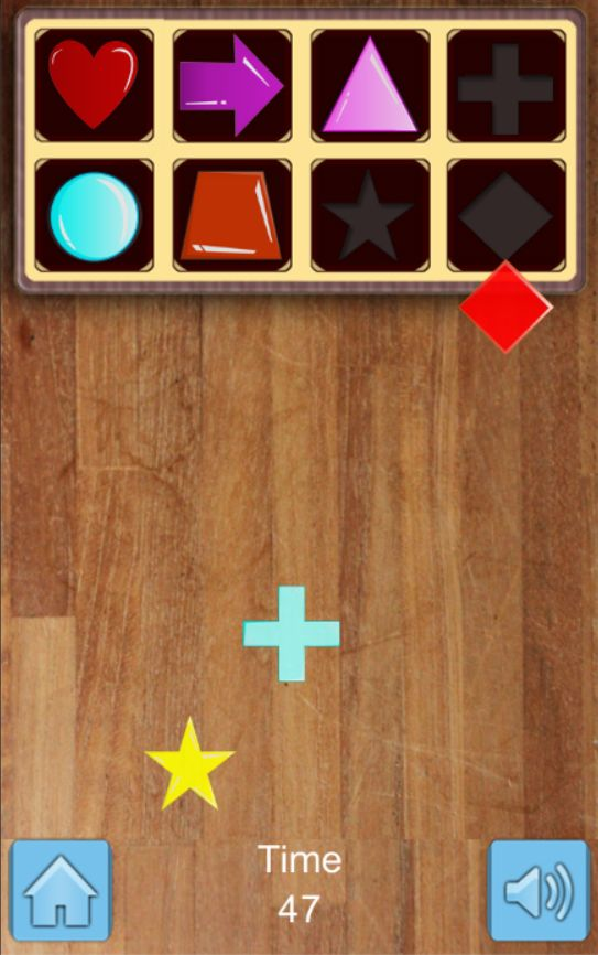 Kids Shapes  Puzzle Game - Unity Source Code Screenshot 3