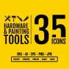 Hardware & Painting Tools Icon Pack