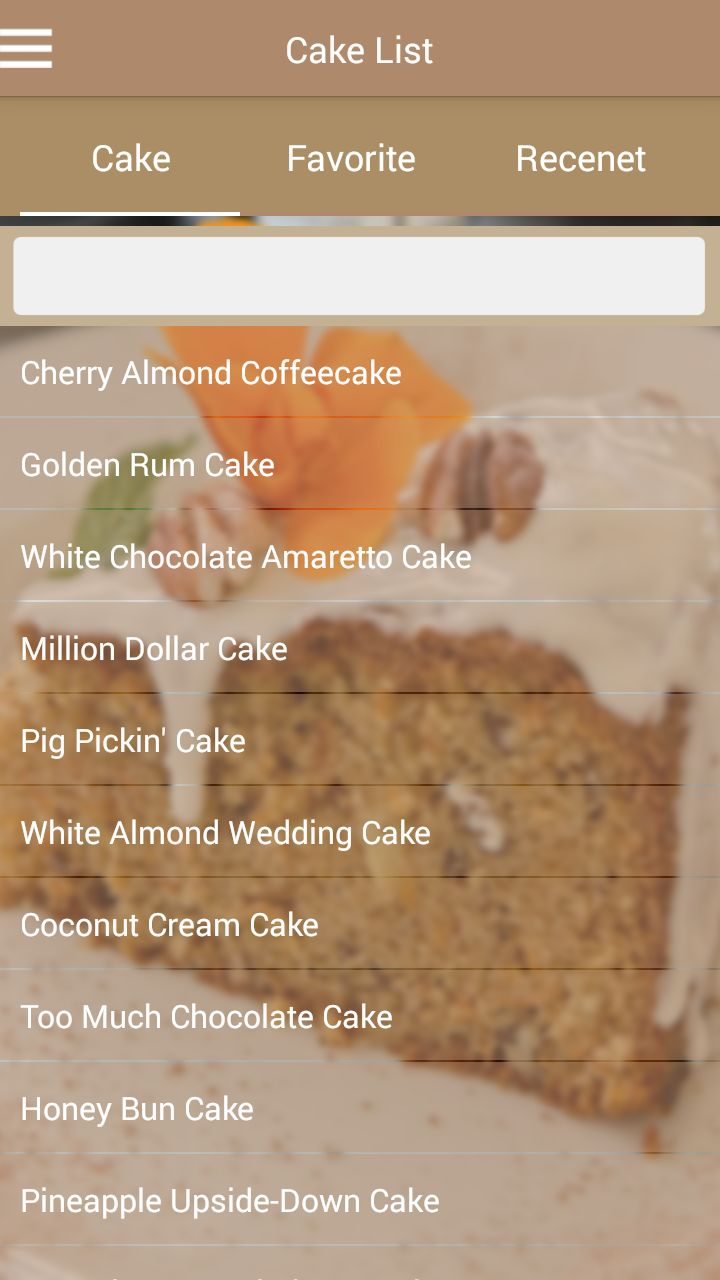 Recipe App Android Template Screenshot 1
