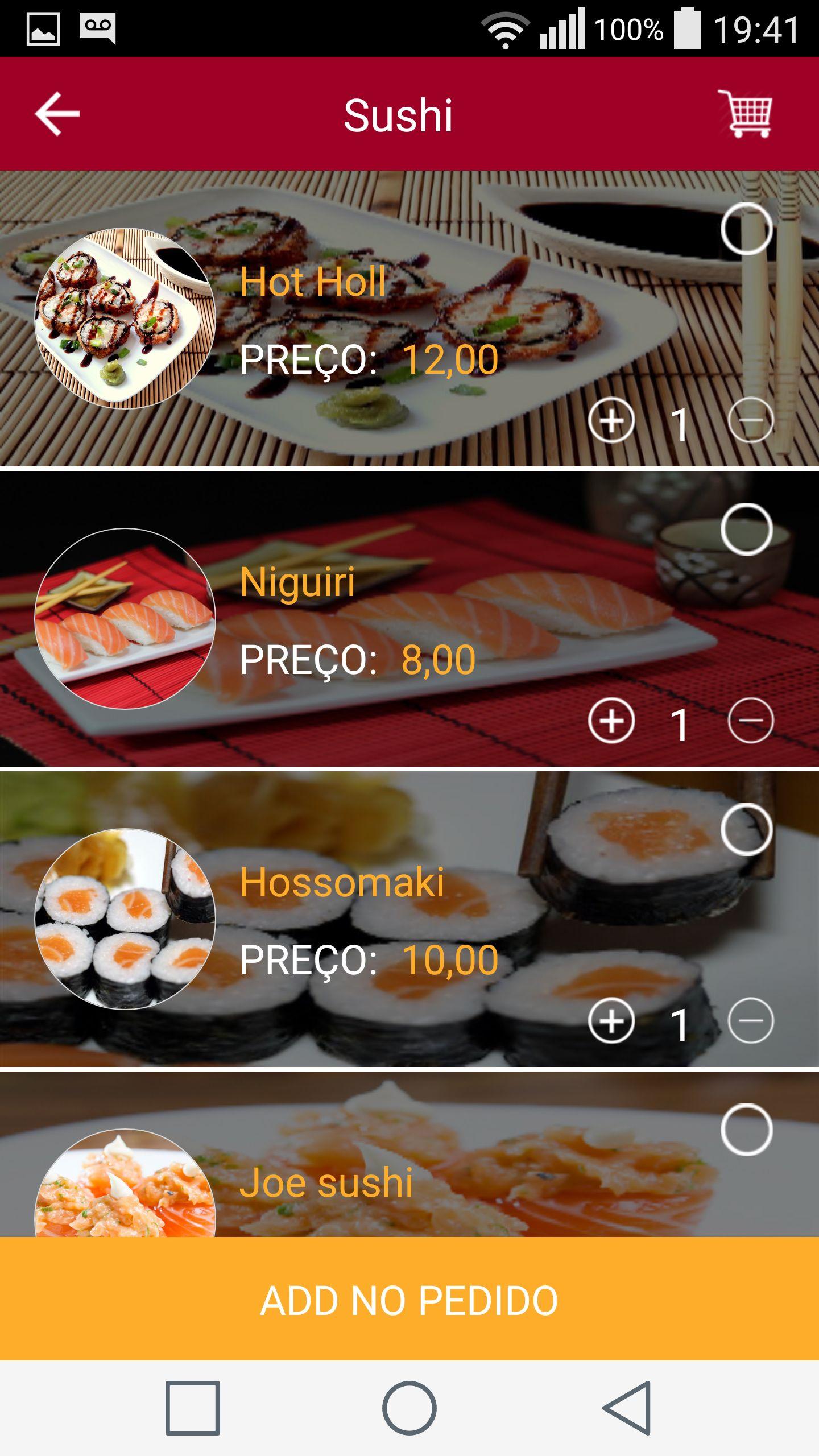 Restaurant app android ios source code food app templates for restaurant app android ios source code screenshot 3 forumfinder Gallery