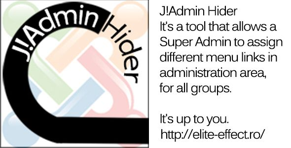 Joomla Admin Hider - Joomla Extension Screenshot 1